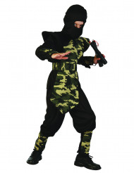 Disfarce ninja com plastrão Menino