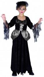 Disfarces gótica preta menina