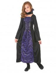Disfarce vampiro violeta Menina