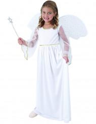 Disfarce de anjo branco