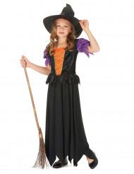 Disfarce bruxa menina