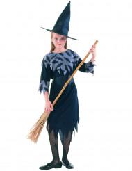 Disfarce de bruxa para menina