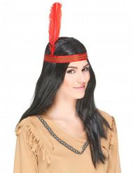 Peruca de índio Homem