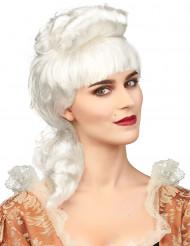 Peruca de nobresa branca mulher