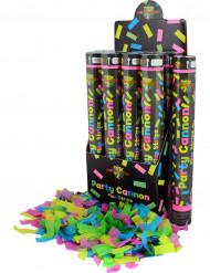 Canhão de confetis fluo