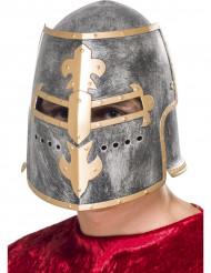 Capacete de cavaleiro medieval adulto