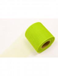 Rolo de tule verde claro 20 metros