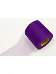 Rolo de tule violeta 20 metros