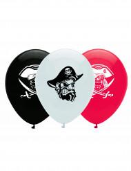 6 balões pirata