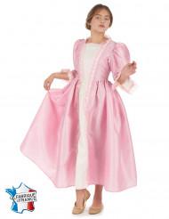 Disfarce marquesa cor-de-rosa menina
