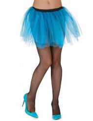Anágua azul turquesa - mulher