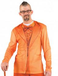 T-shirt fato laranja adulto
