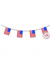 Grinalda bandeiras USA 4 m