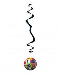 6 decorações a suspender tema Copa do Mundo