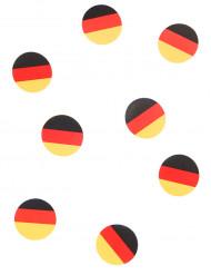 150 confetis de mesa bandeira Alemanha
