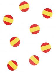 150 confetis de mesa bandeira Espanha