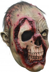 Máscara 3/4 zombie homem