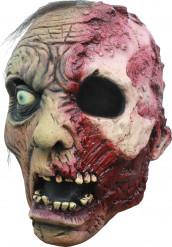 Máscara 3/4 zombie queimado homem