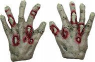 Mãos zombie adulto