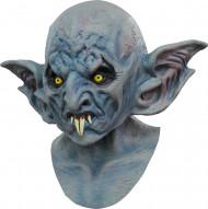 Meia-máscara morcego com orelhas grandes adulto