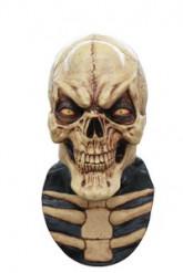 Máscara integral esqueleto risonho homem