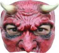 Meia máscara diabo homem