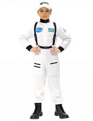 Disfarce astronauta criança