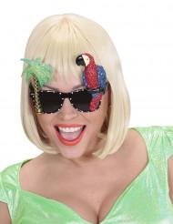 Óculos havaiana papagaio adulto