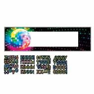 Bandeira personalizável Bola de discoteca