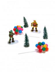 Kit de decoração para bolo Tartarugas Ninja™