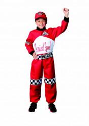 Disfarce Piloto de corrida para criança