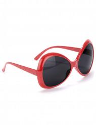 Óculosdisco adulto vermelho