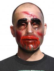 Máscara transparente Halloween homem
