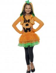 Disfarce de abóbora tutu menina Halloween