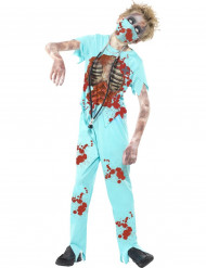Disfarce doutor zombie criança Halloween