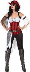 Disfarce pirata para mulher