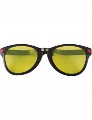 óculos gigantes pretos adultos