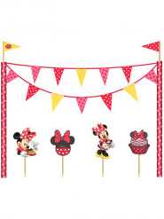 Kit de decoração para bolo Minnie café™
