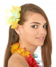 Flor amarela havaí