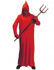 Disfarce demônio vermelho criança