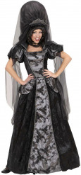 Disfarce vampiro barroco mulher Halloween