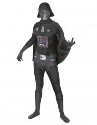 Disfarce Segunda pele de Darth Vader™ para adulto