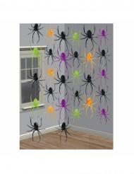 Decorações para pendurar aranhas