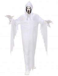 Disfarce fantasma adulto Halloween
