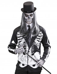 Casaco esqueleto adulto Halloween