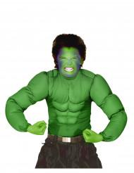 Musclos falsos verdes crianças