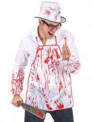 Avental sangrento adulto Halloween