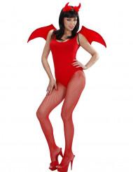 Kit diabo vermelho Halloween
