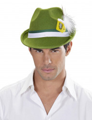 Chapéu bávaro verde adulto