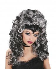 Peruca vampiro bicores mulher Halloween